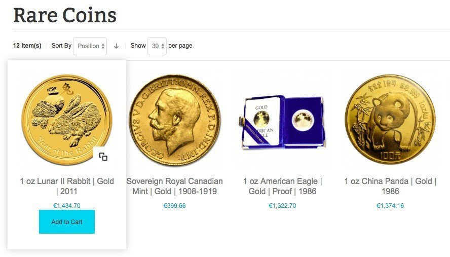 Buy Rare Gold Coins Add To Cart
