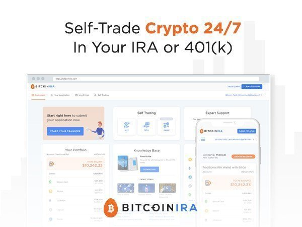 Self Trade Crypto In Your IRA or 401k