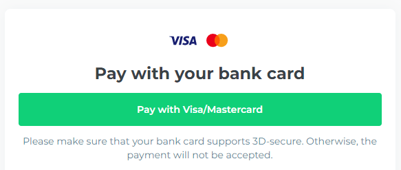 Changelly - Pay With Your Bank Card