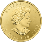 Gold Canadian Maple Leaf Bullion