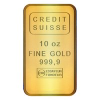 Credit Suisse 10 oz Fine Gold Bar