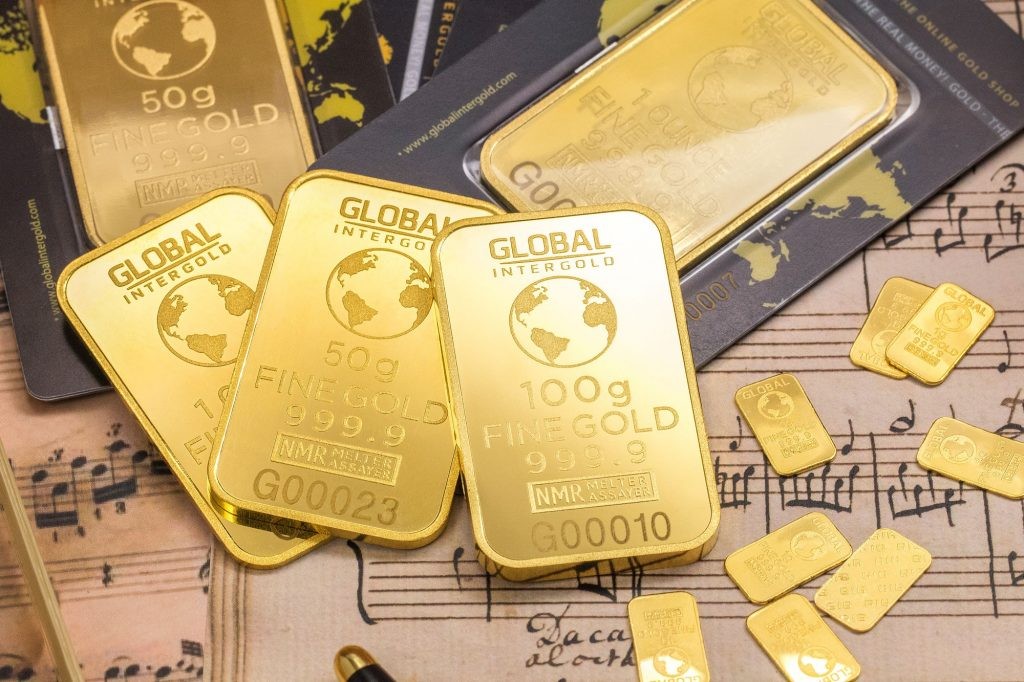 Gold Bars And Gold Bullion For A Gold IRA Rollover