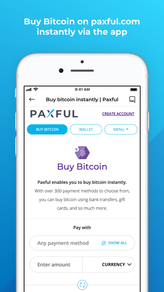 Buy Bitcoin With Cash Instantly On Paxful