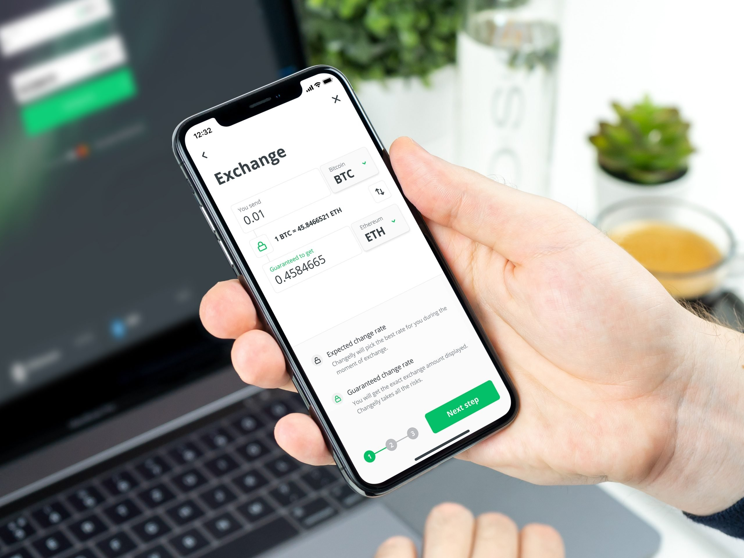 Changelly App On iPhone X