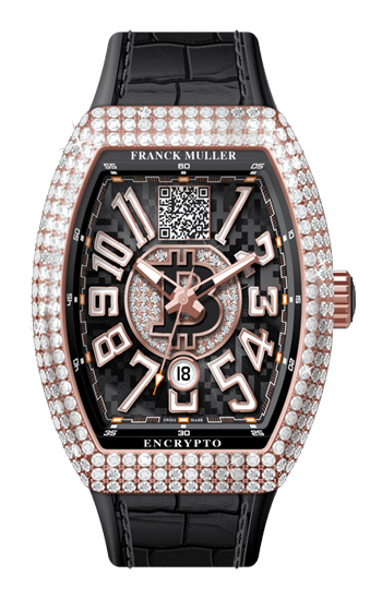 Franck Muller Mens 45MM Diamond Gold Case Centurion Edition