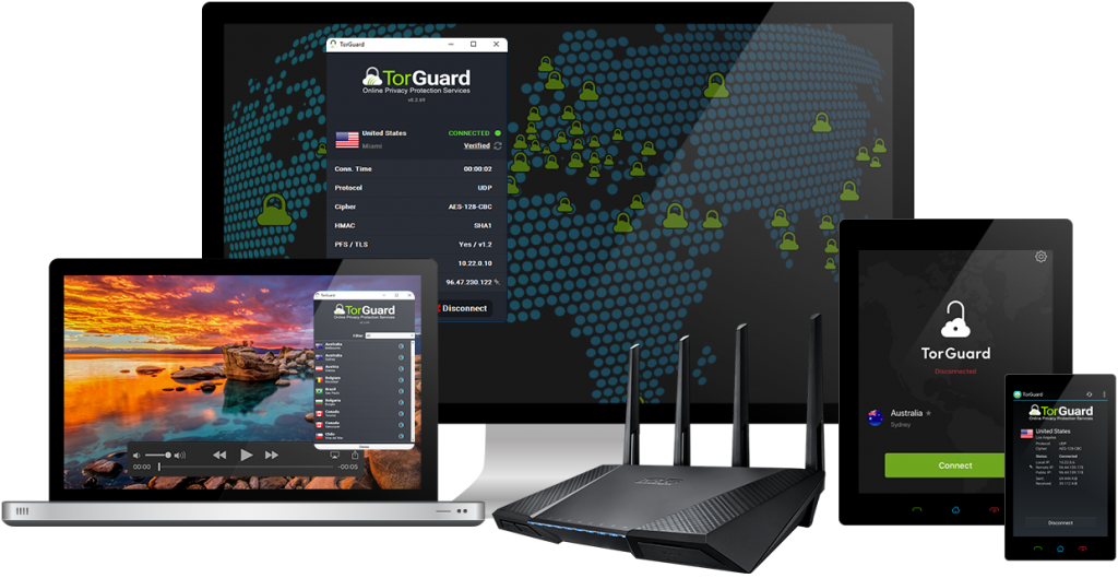 TorGuard On All Devices