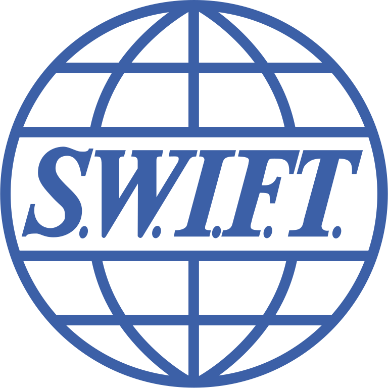 SWIFT International Bank Wire Icon