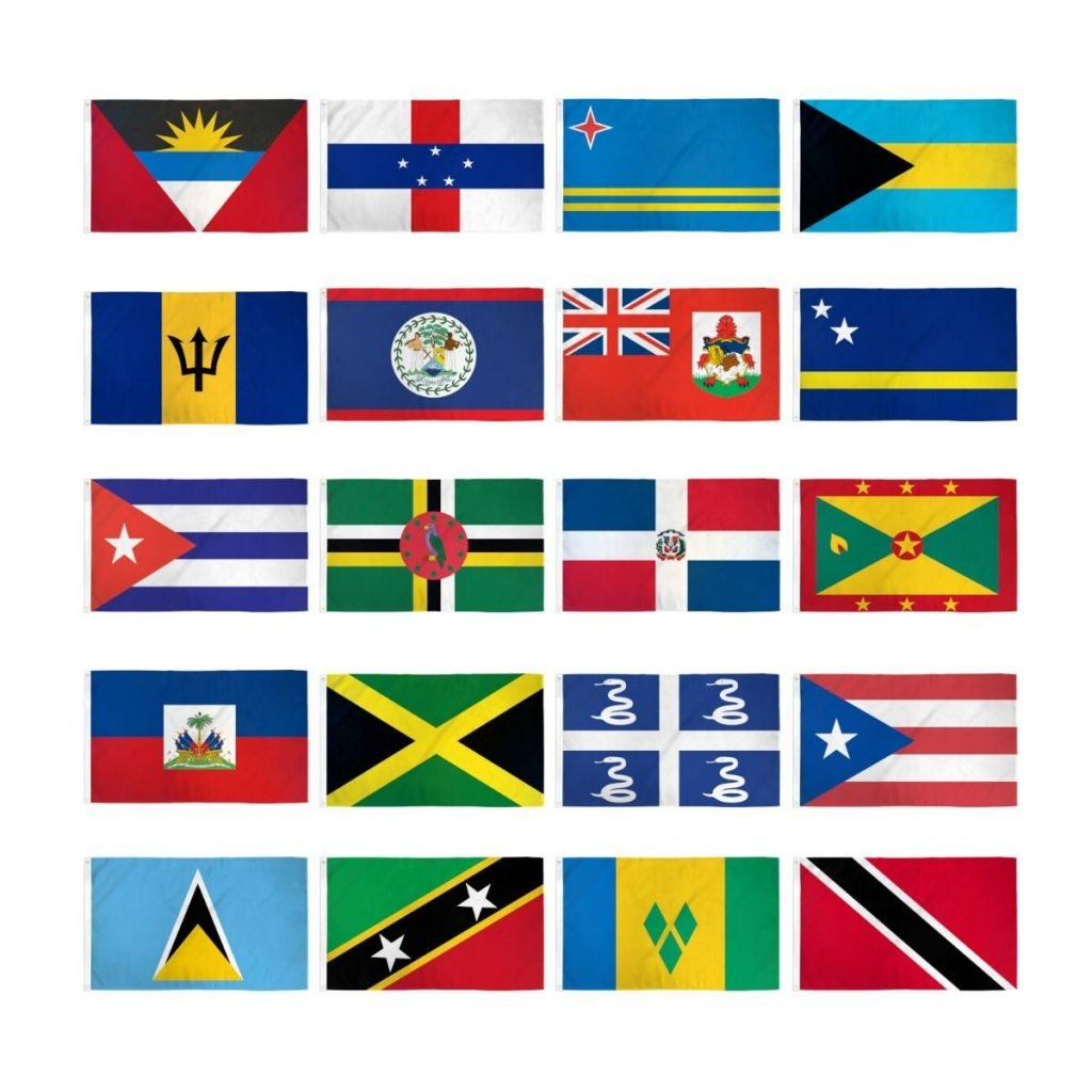 Caribbean Flags